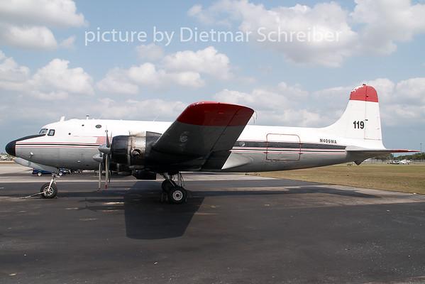 2009-04-03 N406WA Douglas DC4