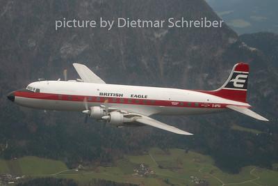 2008-10-27 G-ASA Douglas DC6 British Eagle