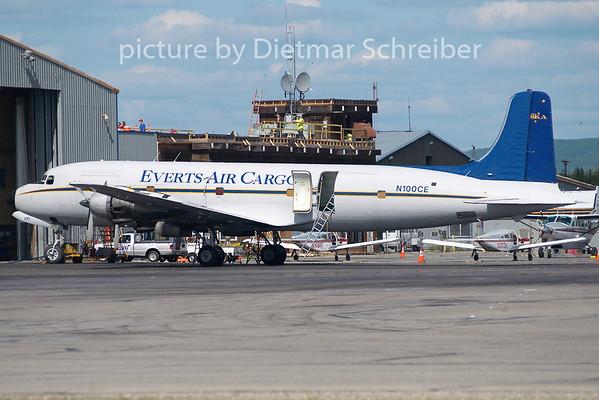 2010-06-14 N100CE Douglas DC6 Everts Air