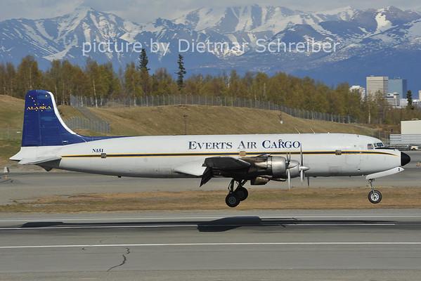 2012-05-14 N151 DC6 Everts Air Cargo