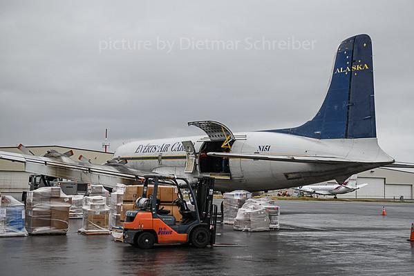 2019-09-25 N151 Douglas DC6 Everts Air