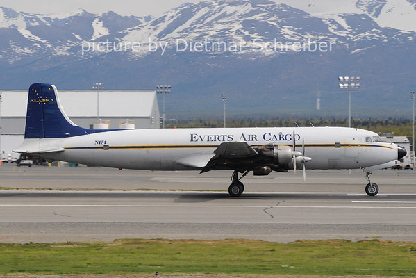 2012-05-19 N151 Douglas DC6 Everts Air