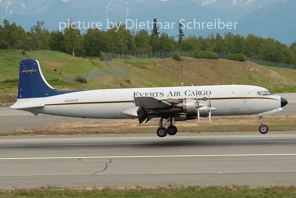 2010-06-12 N251CE Douglas DC6 Everts Air