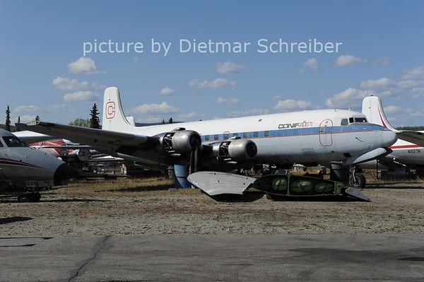 2012-05-17 N3047V Douglas DC6 Conifair Aviation