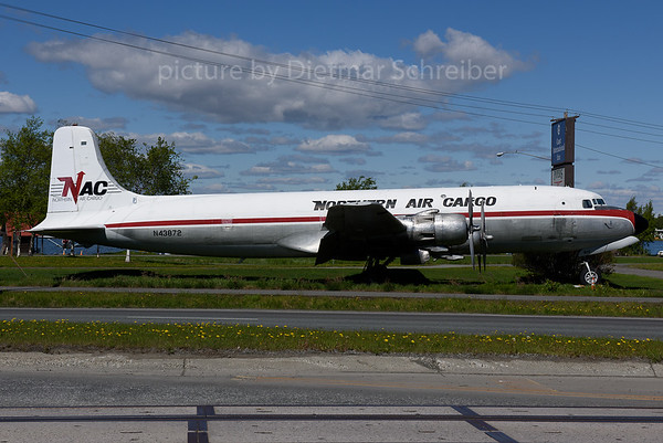 2017-05-30 N43872 Douglas DC6 Northern Air Cargo