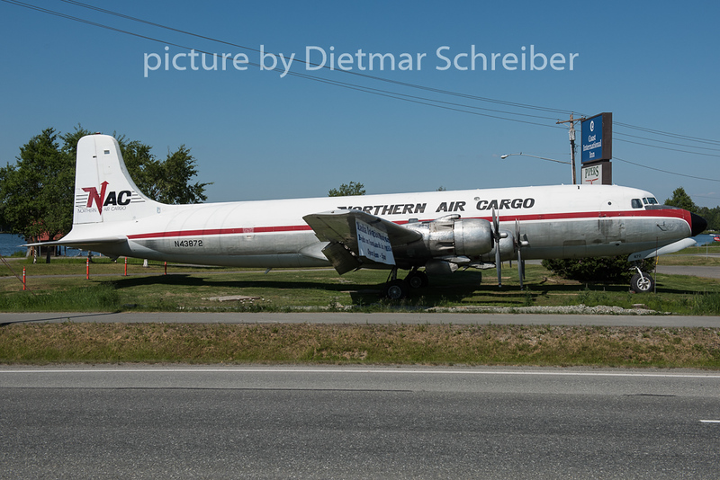 2015-06-17 N43872 DC6 Northern Air Cargo