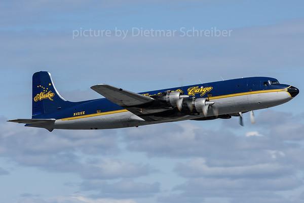 2017-05-23 N451CE Douglas DC6 Everts Air Cargo