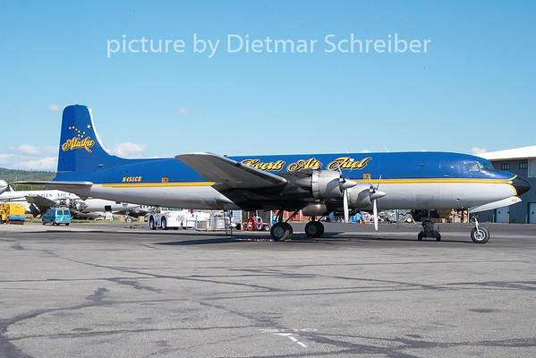 2010-06-14 N451CE Douglas DC6 Everts Air