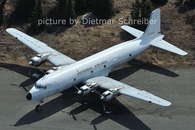 2012-05-15 N500UA Douglas DC6 Universal Airlines