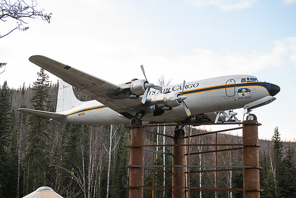 2019-09-26 N6174C Douglas DC6 Everts Air