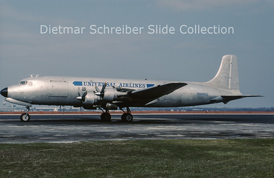 1990-04 N888DG Douglas C118A (c/n 44675) Universal Airlines