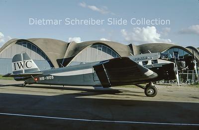 2009-09 HB-HOS Junkers JU52/3M G4E (c/n 6580) JU Air