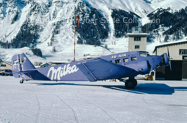 1997-02 HB-HOS Junkers JU52/3M G4E (c/n 6580) JU Air