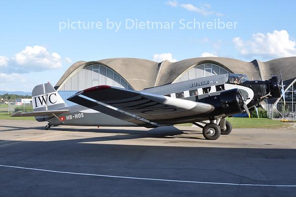 2009-08-29 HB-HOS Junkers Ju52 Ju AIr
