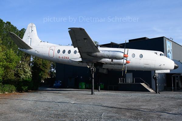 2019-05-31 G-AZNA Vickers Viscount