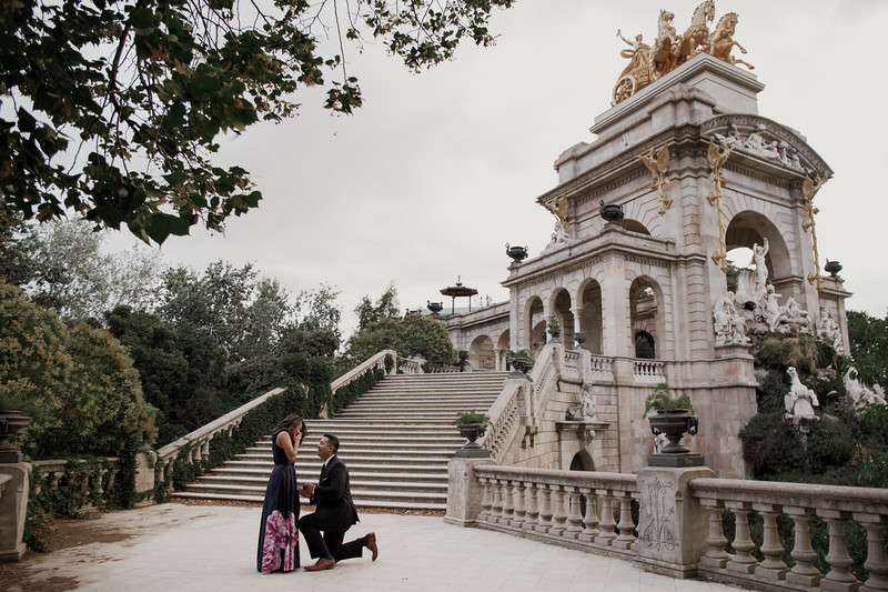 Surprise proposal   Barcelona - Parc de la Ciutadella