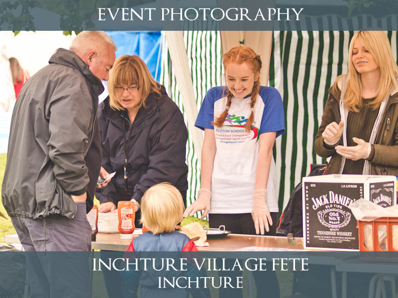 Inchture Summer Fete - Charity Event Photography - S.R. Wood Photography