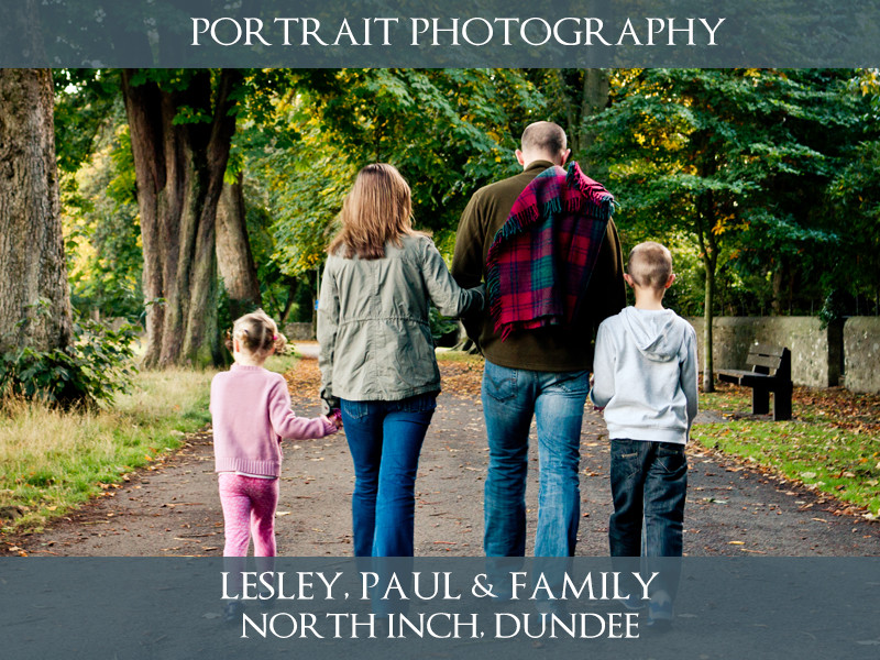 Jeffrey Family - North Inch - Lifestyle Photography - S.R. Wood Photography