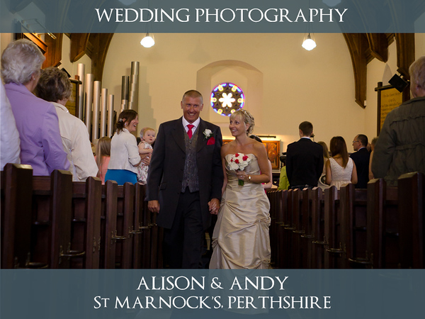 Alison & Andy - Fowlis & Doubletree By Hilton Dundee - Wedding Photography