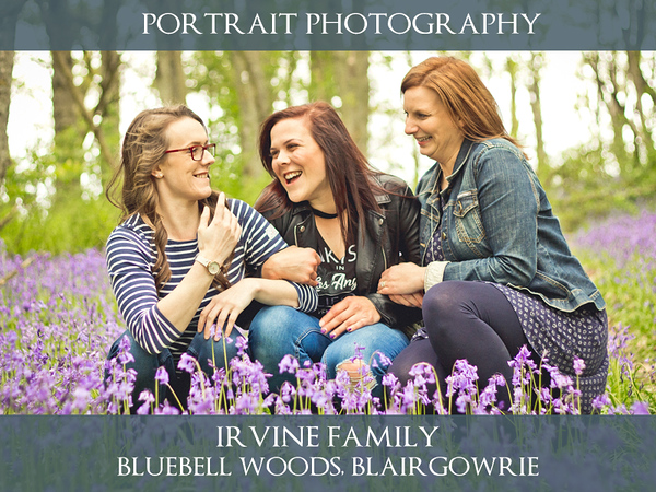 Irvine Family - Bluebell Woods - Lifestyle Photography