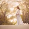 Meera Leah Maria Maternity top and sheer skirt
