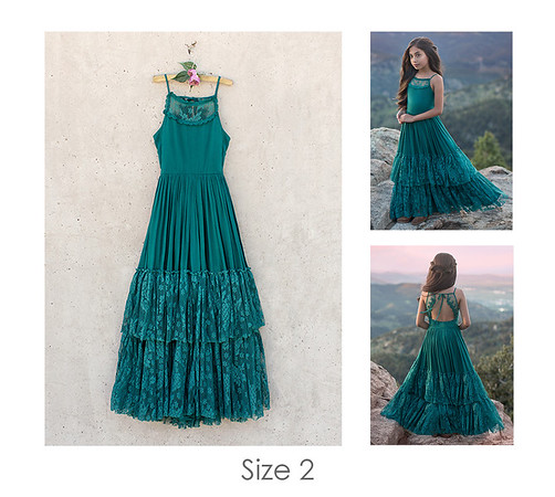 CATRIN DRESS IN TEAL