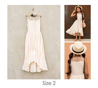 Chiara Dress in Cream