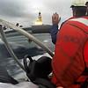 Accion marina de Greenpeace contra las prospecciones de Repsol en Canarias