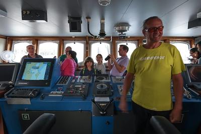 Málaga rueda de prensa y open boat