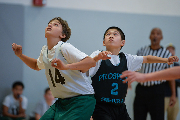 Prospect Sierra 6th Grade boys ball