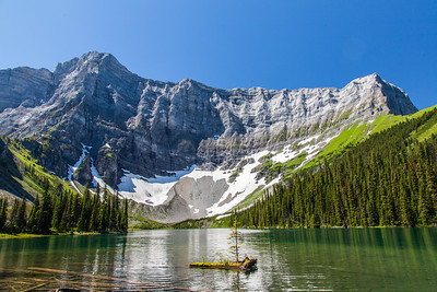 Rawson Lakle (Mount Sarrail)