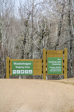 Waskehegan sign
