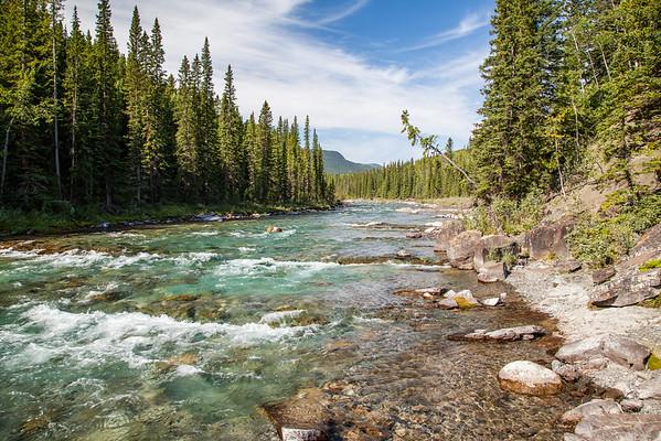 Elbow Falls Provincial Recreation Area