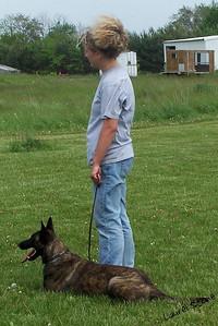 9/06 O. G. Bierstadt Schutzhund Trial