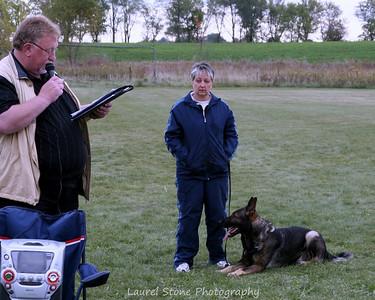 10/08 NC Regional Schutzhund Championship