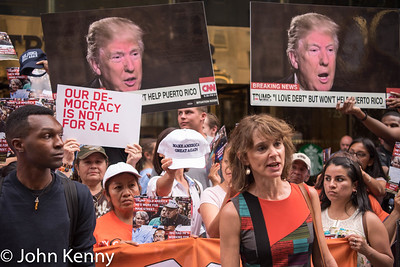 Protest Outside Trump Tower 6-21-16