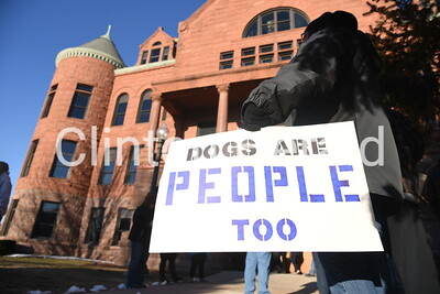 Protest at courthouse 3-8-18