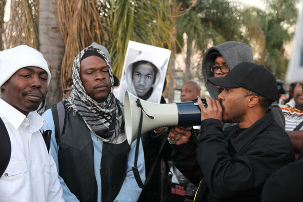 Justice for Trayvon Martin one year anniversary of his death 2-26-13
