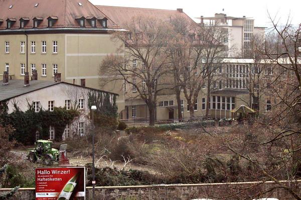 Würzburg: Zerstörung des Platz´schen Gartens