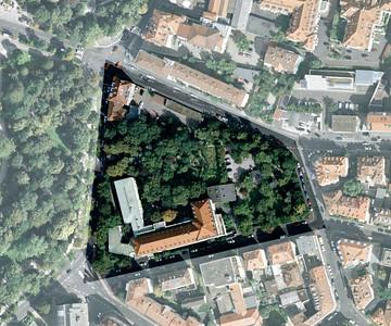 Vor der Baumrodung. Quelle: Google Maps