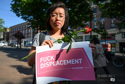 Anti-Displacement Protest, Seattle Chinatown-International District