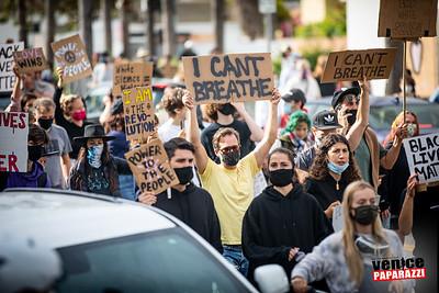 06.02.20 BLM protest in Venice, Ca.  ©VenicePaparazzi