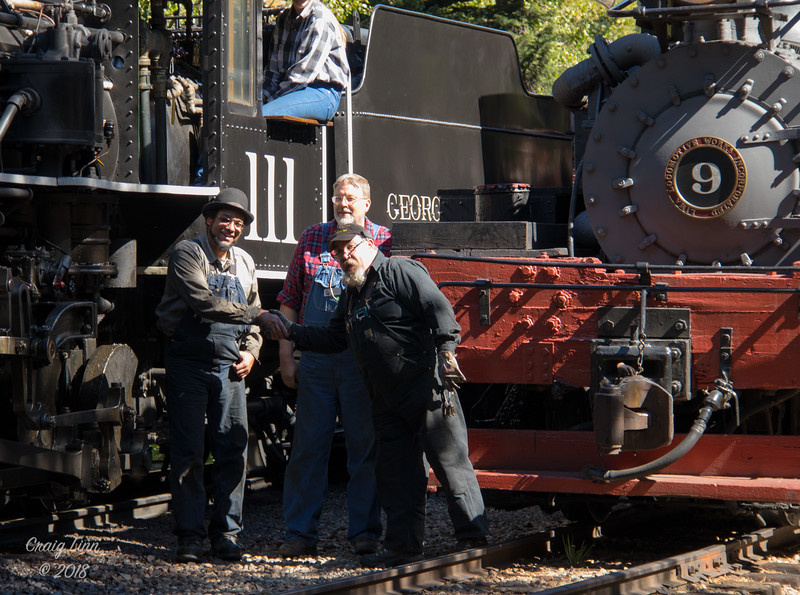Two Engineers and our Trainmaster