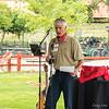 Dave S. giving a speech.