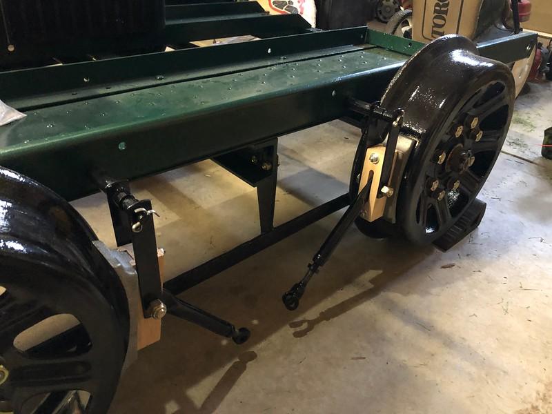 Brake System Mounted