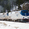Westbound California Zephyr after Big 10