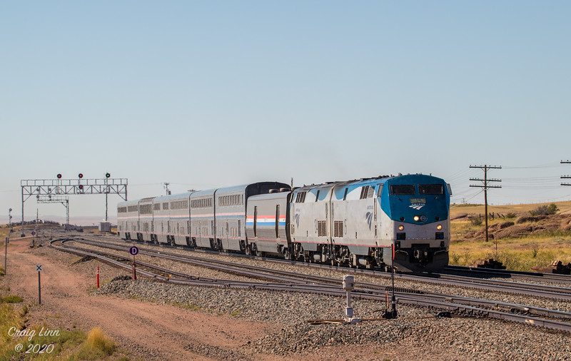 Amtrak 6 - On the Overland Route