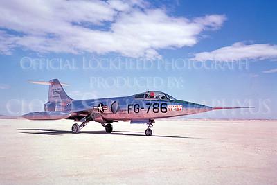 PT 00002 Lockheed XF-104 Starfighter USAF 37786 via Lockheed Aircraft Company