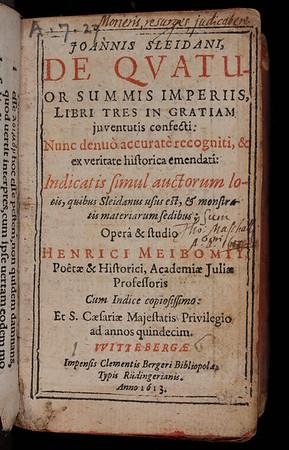 17th century inscription