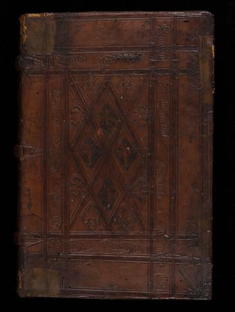 Blind-stamped binding, 16th century